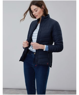 Women's Joules Harrogate Padded Jacket - Marine Navy