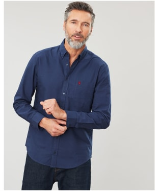 Men's Joules Laundered Oxford Shirt - French Navy