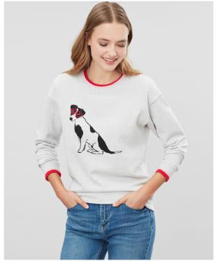 Women's Joules Presley Sweater - Grey Dog