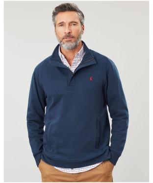Men's Joules Deckside Half Zip Sweatshirt - Navy