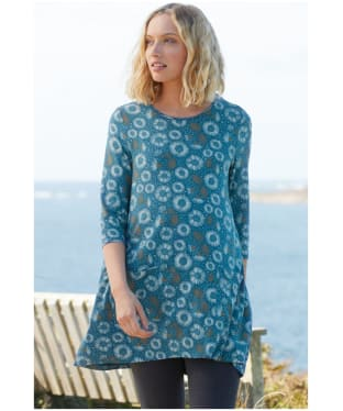 Women's Seasalt Killiow Tunic - Ink Floral Storm