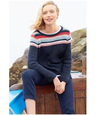 Women's Seasalt Puffin Island Jumper - Anchor Point Fleet
