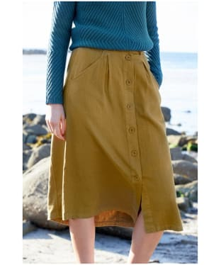 Women's Seasalt Screen Test Skirt - Oak