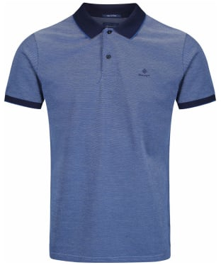 Men's GANT 4-Colour Polo Shirt - Persian Blue