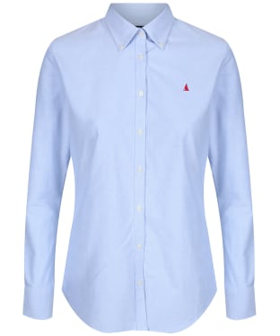Women's Musto Oxford Long Sleeve Shirt - Pale Blue
