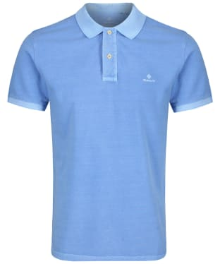 Men's GANT Sunbleached polo shirt - Pacific Blue