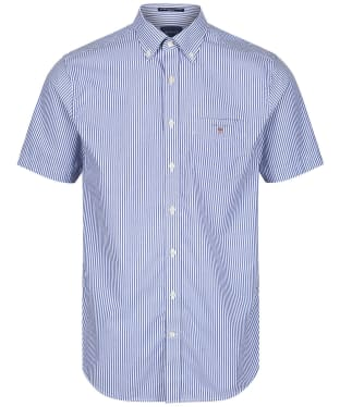 Men's GANT Broadcloth Banker Short Sleeved Shirt