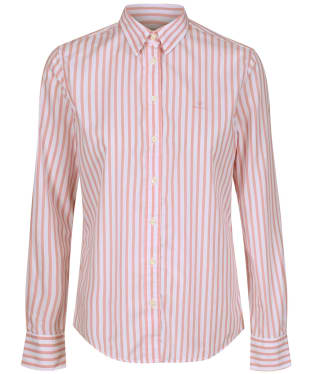 Women's GANT The Broadcloth Striped Shirt - Summer Rose
