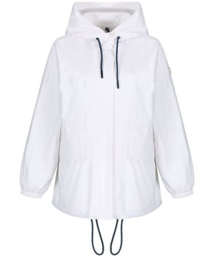 Women's Aigle Costus Waterproof Jacket - Blanc Aigle