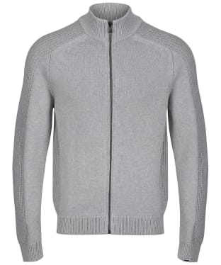 Men's Aigle Marlaw Full Zip Sweater - Heather Grey