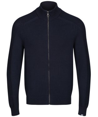 Men's Aigle Marlaw Full Zip Sweater - Marine Aigle