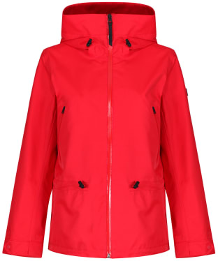 Women's Aigle Retrobloom Waterproof Jacket - Red