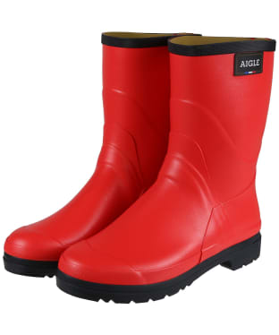 Women's Aigle Bison Rubber Boots - Sweet