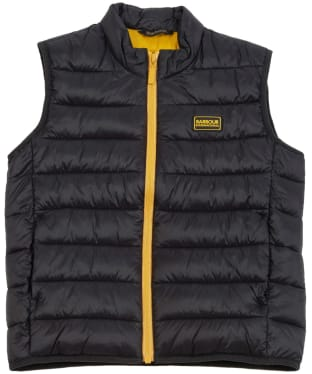 Boy's Barbour International Reed Gilet 10-15yrs - Black