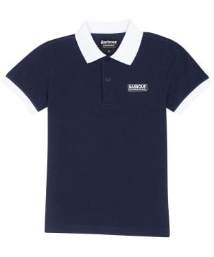 Boy's Barbour International Contrast Polo Shirt, 6-9yrs