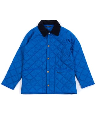 Boy's Barbour Liddesdale Quilted Jacket, 2-9yrs - True Blue