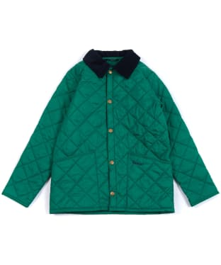 Boy's Barbour Liddesdale Quilted Jacket, 2-9yrs - Rich Green