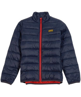 Boy's Barbour International Reed Quilted Jacket, 10-15yrs - Navy
