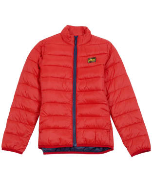 Boy's Barbour International Reed Quilted Jacket, 2-9yrs - Lava