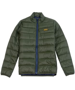 Boy's Barbour International Reed Quilted Jacket, 2-9yrs - Sage