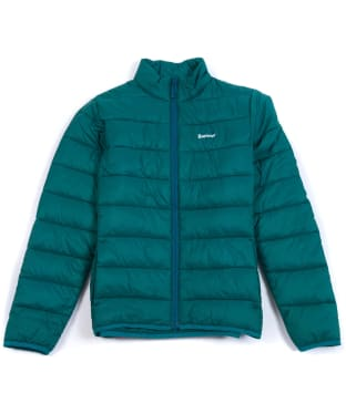 Boy's Barbour Penton Quilted Jacket, 10-15yrs - Rich Green