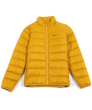 Boy's Barbour Penton Quilted Jacket, 2-9yrs - Golden Yellow