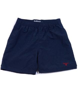 Boy's Barbour Essential Swim Shorts, 6-9yrs - Navy