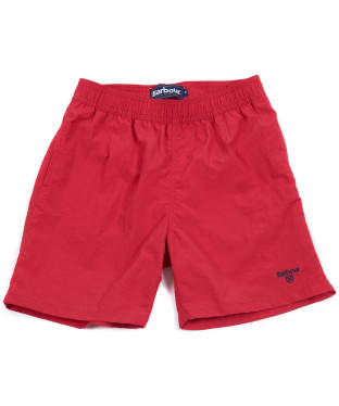 Boy's Barbour Essential Swim Shorts, 6-9yrs - Red