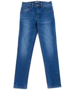 Boy's Barbour Essential Jeans, 10-15yrs - Rinse Wash Denim