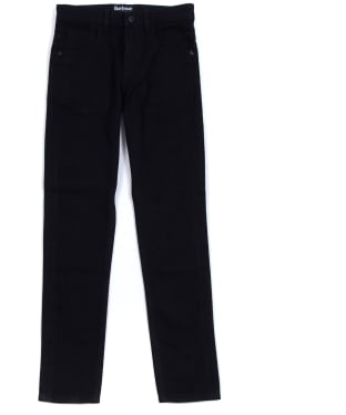 Boy's Barbour International Essential Jeans, 10-15yrs - Black