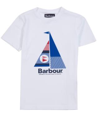 Boy's Barbour Sail Tee, 6-9yrs