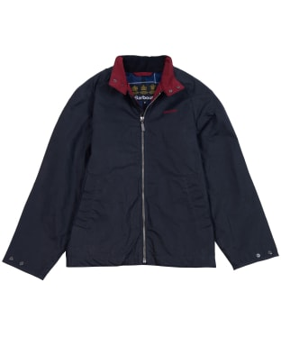 Boy's Barbour Ender Waxed Jacket, 6-9yrs