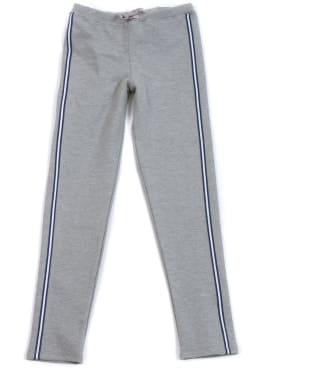 Girl's Barbour International Track Pants, 10-15yrs - Grey