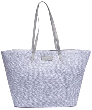 Women's Barbour Cooper Tote Bag - Platinum