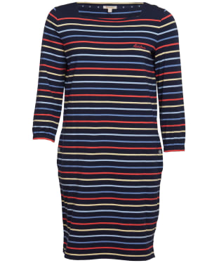 Women's Barbour Seaview Dress - Navy Stripe