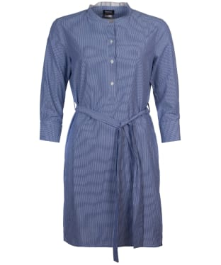 Women's Barbour Lucie Shirt Dress - Navy / White