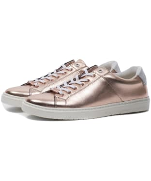 Women's Barbour International Herrera Trainers - Rose Gold