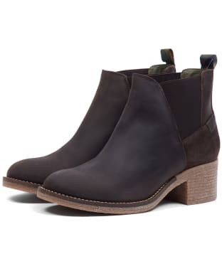 Women's Barbour Keren Chelsea Boot - Brown Leather