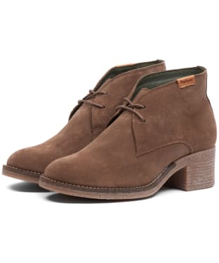 Women's Barbour Edele Chukka Boots - Taupe Suede