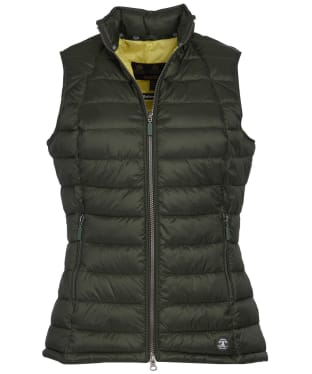 Women's Barbour Deerness Gilet - Duffle Green