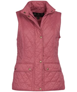 Women's Barbour Otterburn Gilet - Tayberry