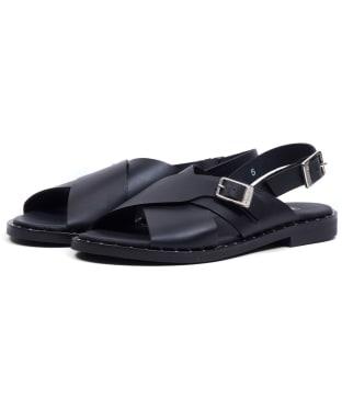 Women's Barbour International Amari Sandal - Black