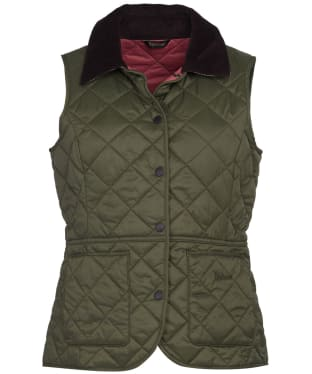 Women's Barbour Deveron Gilet - Olive