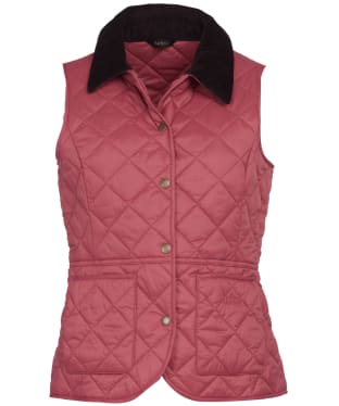 Women's Barbour Deveron Gilet - Tayberry