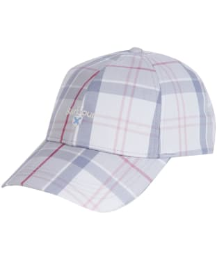 Women's Barbour Lindsday Tartan Sports Cap - Platinum Tartan