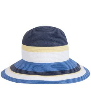 Women's Barbour Marsh Cloche Hat - Blue / Yellow