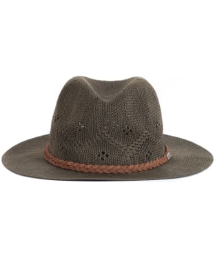 Women's Barbour Flowerdale Trilby Hat - Olive