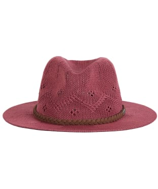 Women's Barbour Flowerdale Trilby Hat - Tayberry