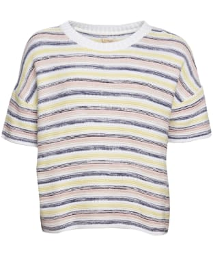 Women's Barbour Harbourside Knit Sweater - Multi Stripe