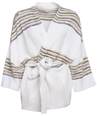 Women's Barbour Pier Knit Cardigan - Multi Stripe